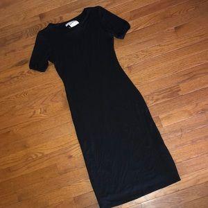 Chic black dress !